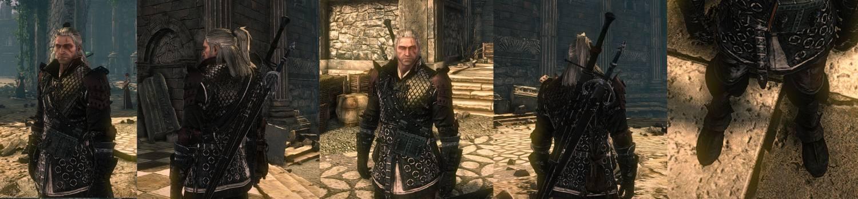 Дополнение Vran Elder Blood black set это новые текстуры для брони Vran, а
